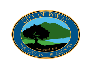 City of Poway California Logo image